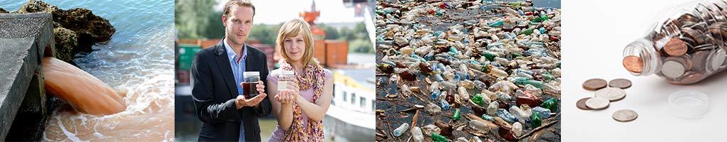 Contaminación y derroche del agua de botella