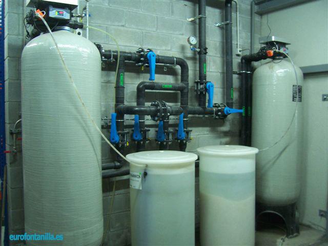 Tratamientos de agua comunidades y empresas eurofontanilla for Precio instalacion descalcificador