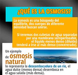 Osmosis Inversa funcionamiento e Infografía