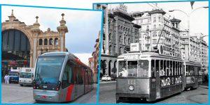 tranvias zaragoza viejo y nuevo Filtro Fontanilla, su historia en Zaragoza