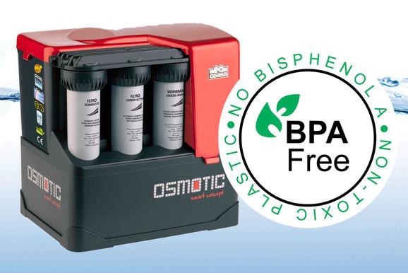 Nuestra Osmosis libre de Bisfenol A
