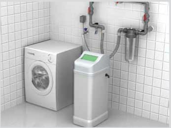 descalcificador de agua doméstico