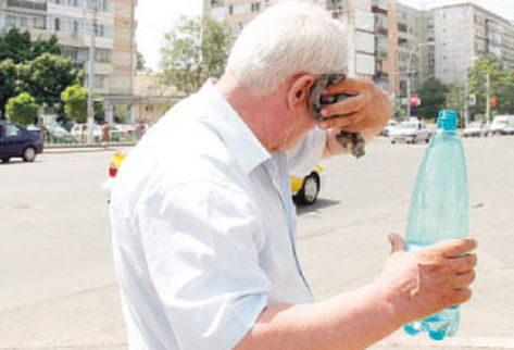 deshidratación en adultos mayores