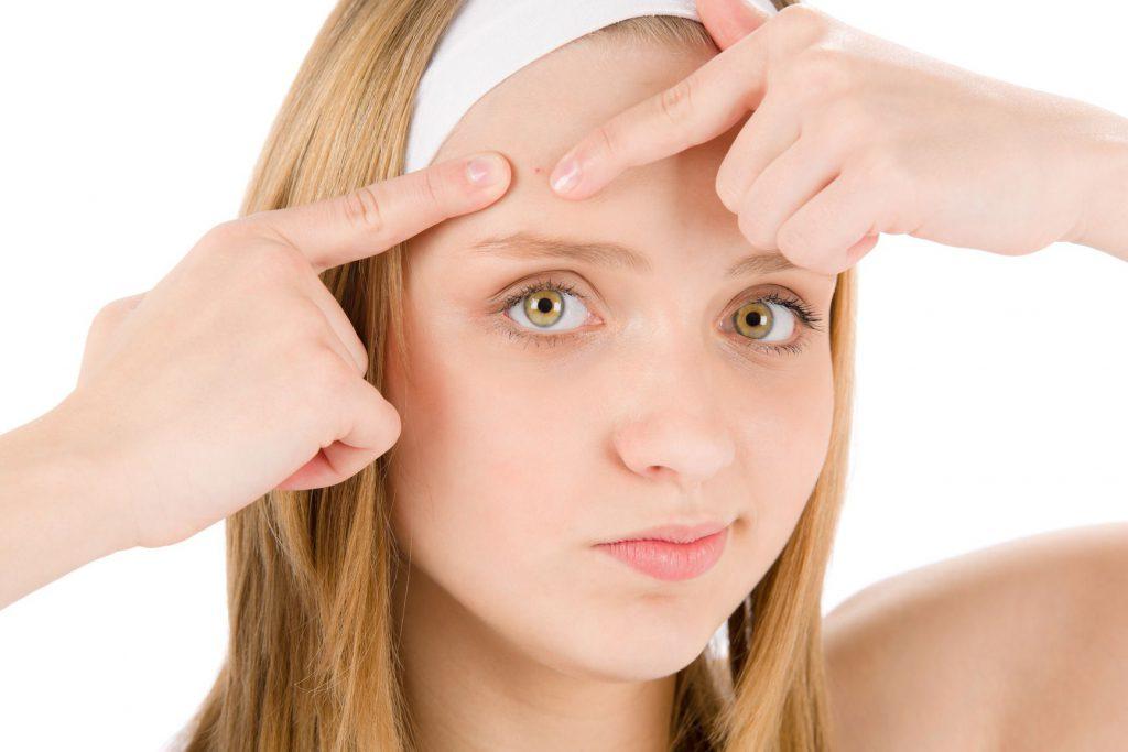Eliminar el acné con Agua