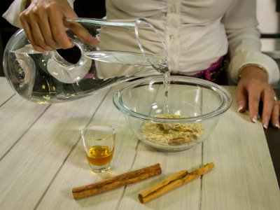 preparacion agua de avena