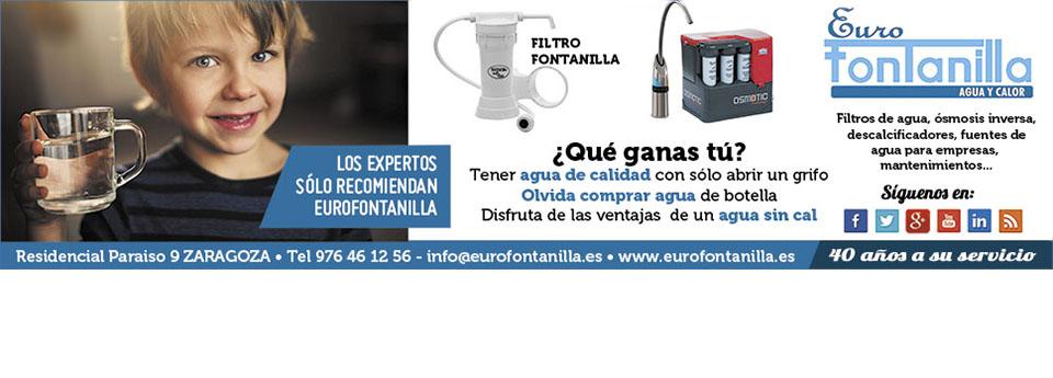 Anuncio del Heraldo de Aragón de Eurofontanilla de Mayo 2016