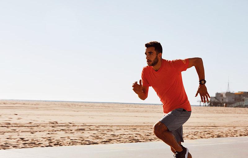 El agua y el running