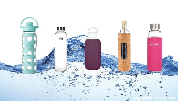 Qué material es mejor para mi botella de agua